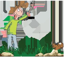 jesper_pointing_grass